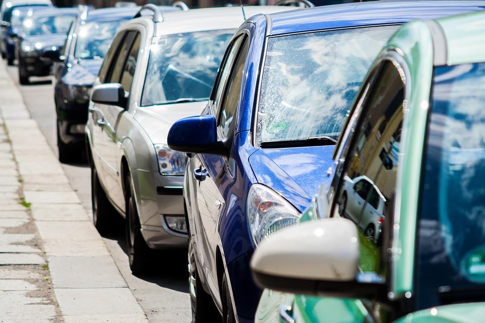 Auto, Road, Jam, Park, Traffic, Pkw, Away, Drive