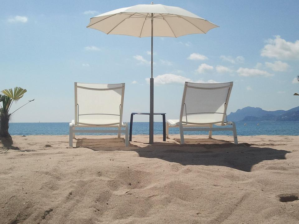 Vakantie, Strand, Zomer, Relax, Frankrijk, Cannes, Zand