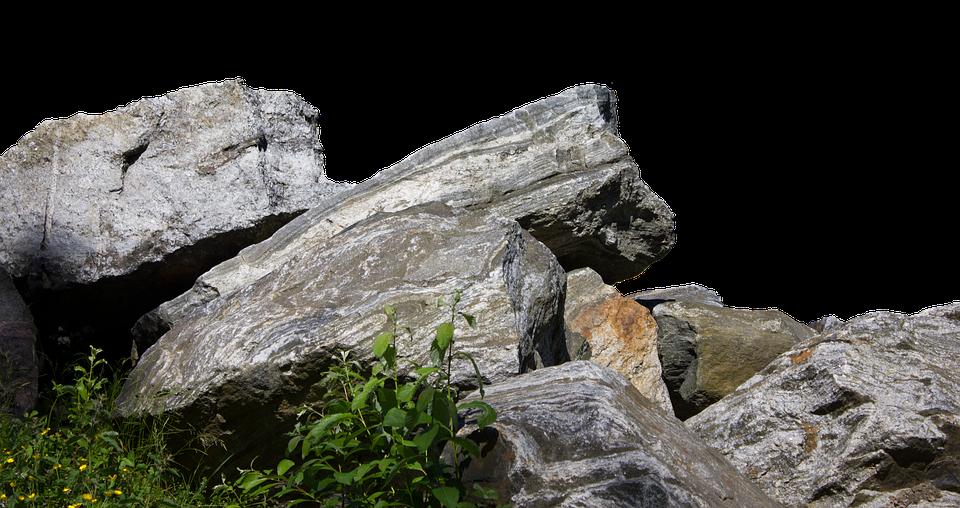 Free Photo Rock Stones Nature Grass Free Image On