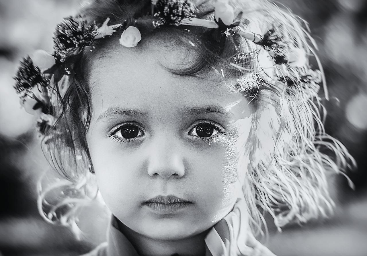 Girl, Worried, Portrait, Sad, Child, Kid, Face