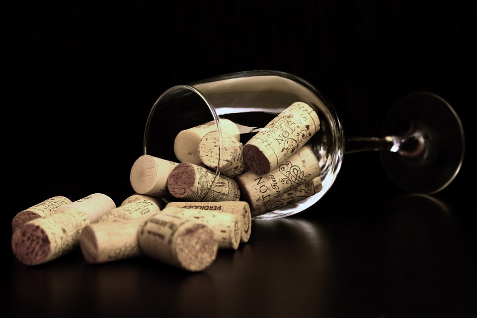 Cork, Wine, Wine Glass, Glass Of Wine, Cover, Abstract