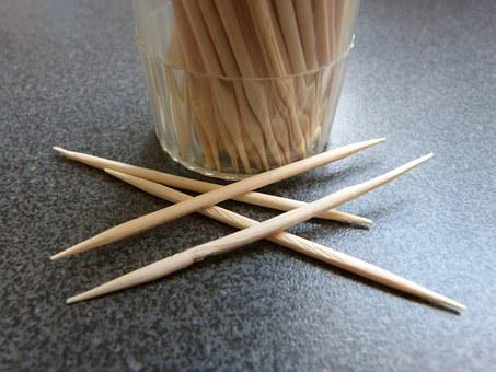 Macro, Close Up, Toothpick, Container