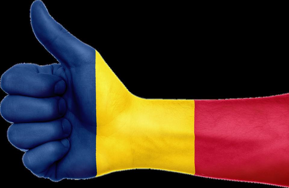 Free Illustration Chad Flag Hand National Fingers Free - Chad flag