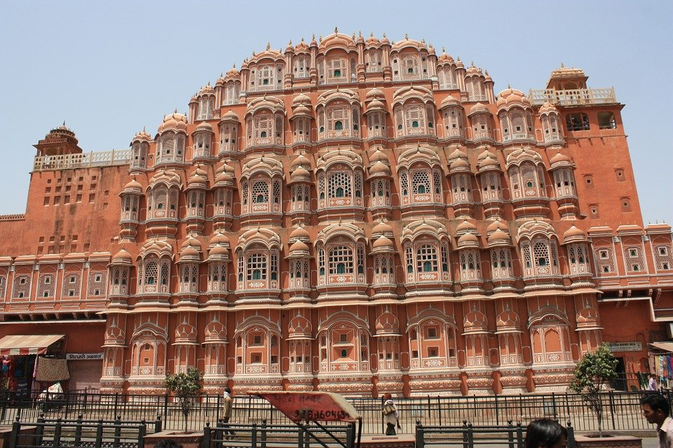 Photo gratuite jaipur l 39 inde rajasthan image gratuite for Architecture inde