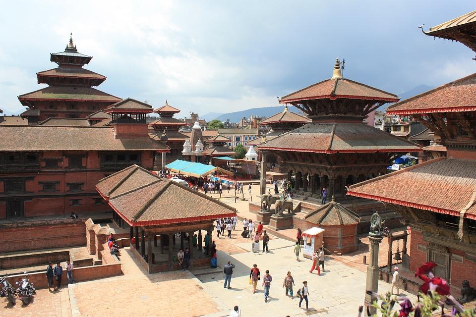 ネパール カトマンズ ダルバール...