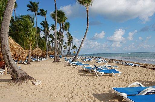 Playas, Palmeras, Punta Cana, República Domincana