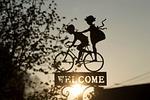 zarejestruj, rower, dekoracja