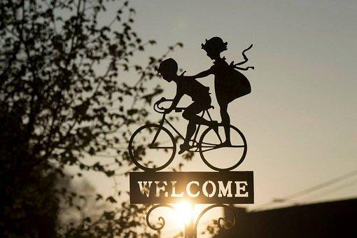 Segno, Bicicletta, Decorazione, Bici