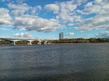 Пермь, Кама, Река, Мост