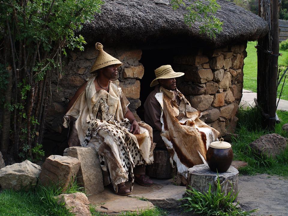 Republika Południowej Afryki, Basotho, Wódz, Szaman