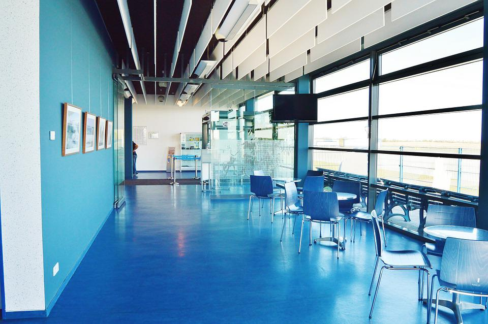 Airport, Passenger Area, Reception Hall, Waiting Room