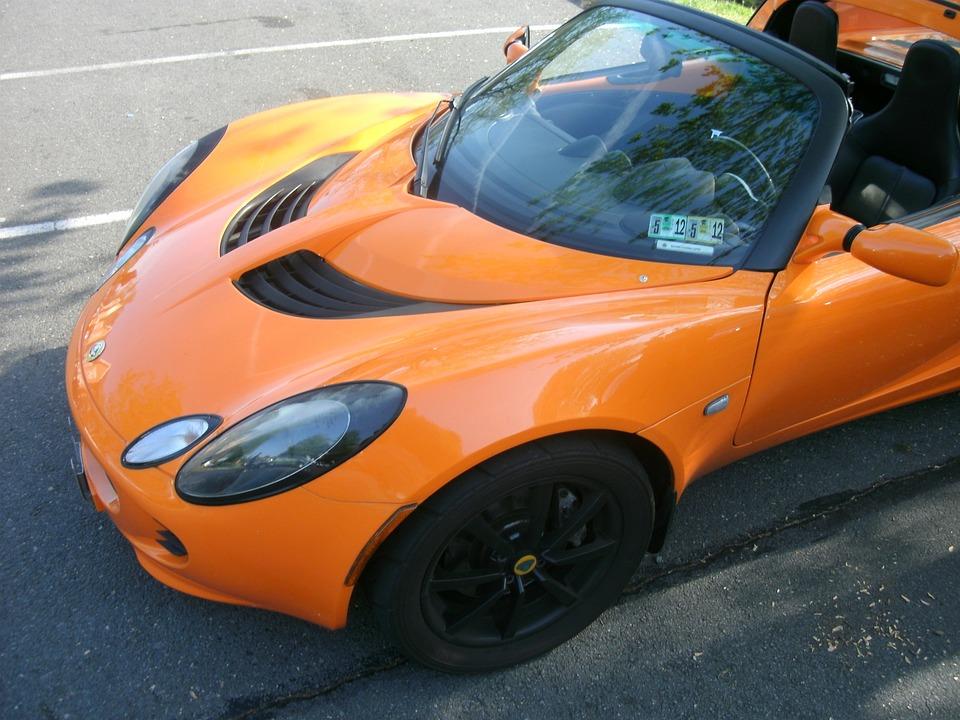 Lotus Car Orange · Free Photo On Pixabay