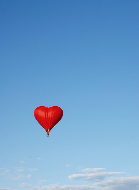 Balloon Romance Sky 183 Free Photo On Pixabay