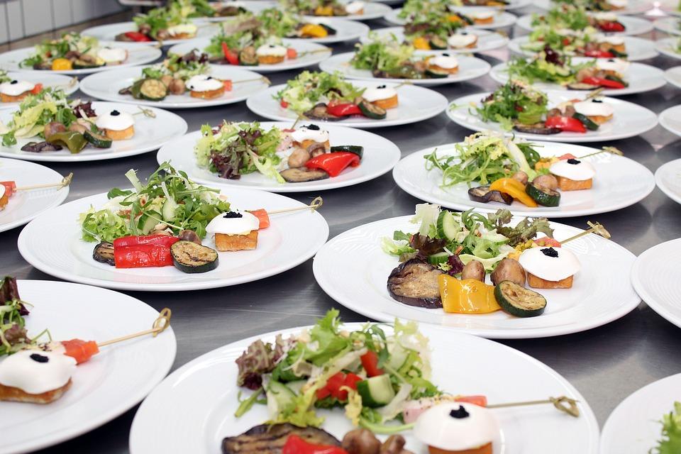 free photo salads plate buffet cold buffet free