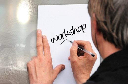 Workshop, Shield, Keep, List, Man, Write