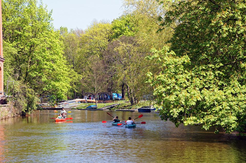 Fluss In Leipzig kostenloses foto leipzig karl heine kanal wasser kostenloses