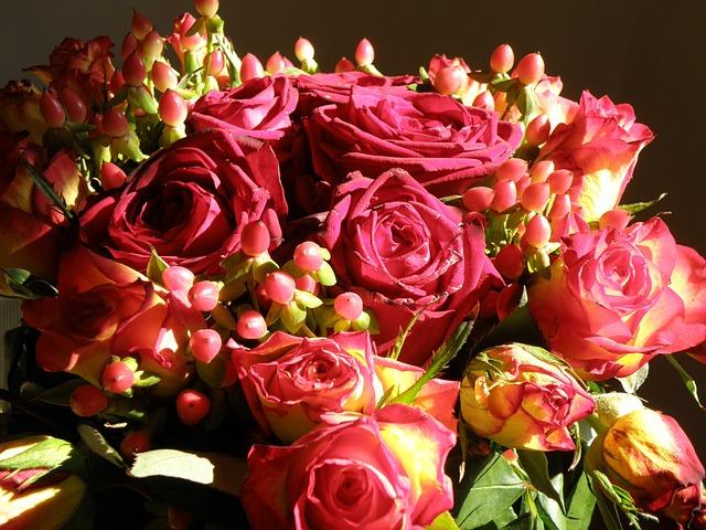Photo gratuite rose bouquet fleurs fleur image gratuite sur pixabay 745456 - Image bouquet de roses gratuit ...