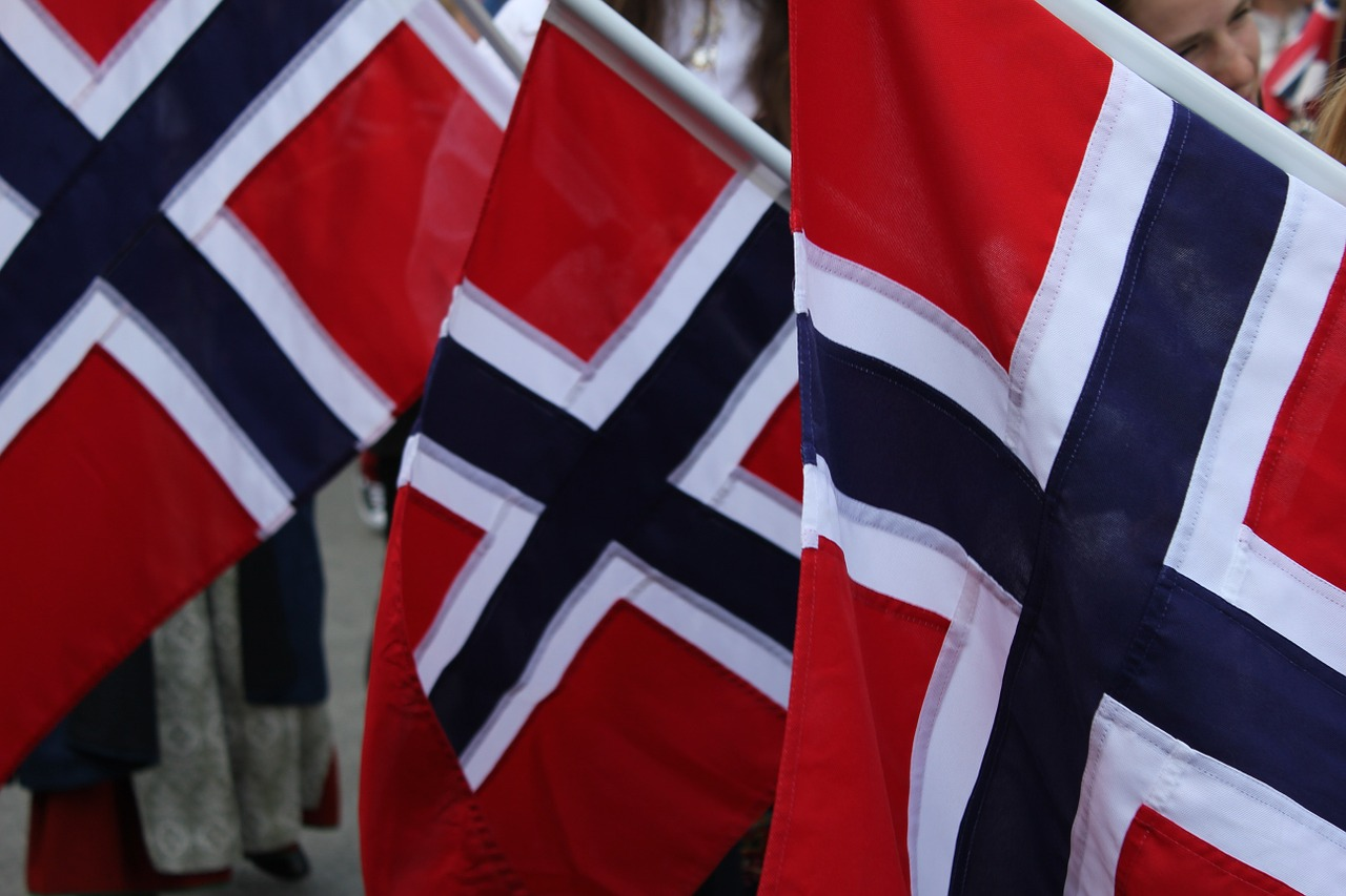 Norway Norwegian Flags - Free photo on Pixabay