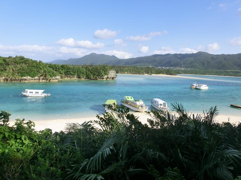 沖縄, 石垣島, 海, ビーチ, リゾート, 癒し, 優しい, 緑, 島, 南国