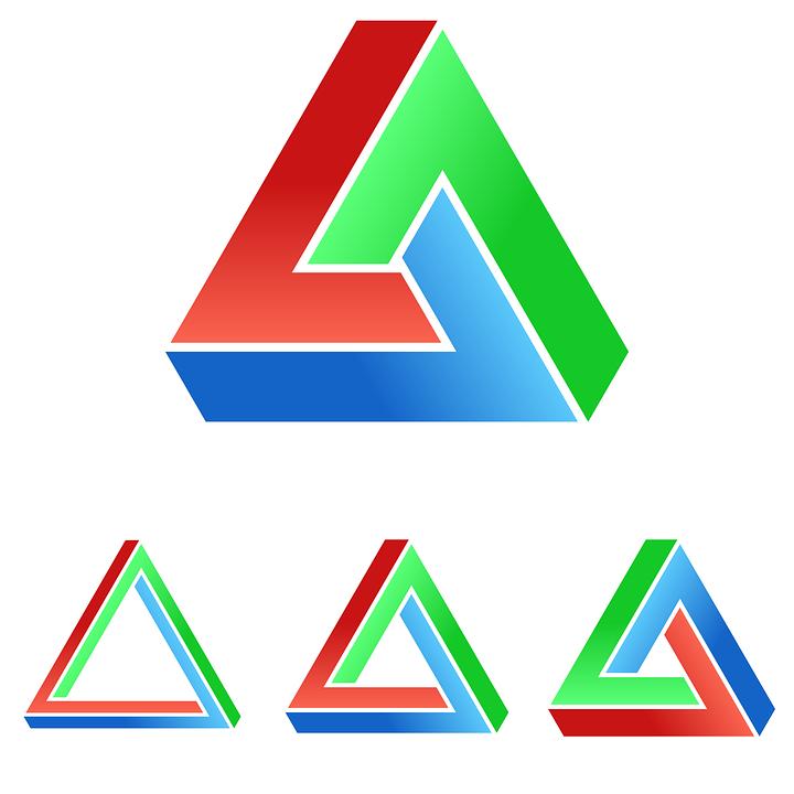 3d triangle logos wwwimgkidcom the image kid has it