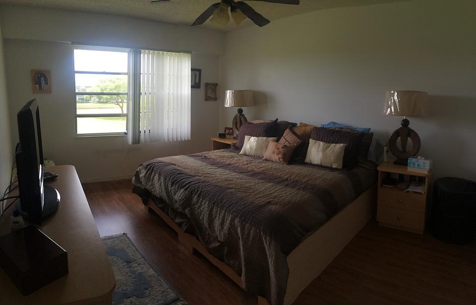 무료 사진: 침실, 위로, 룸, 내부, 가구, 아파트, 현대, 호텔, 집 ...