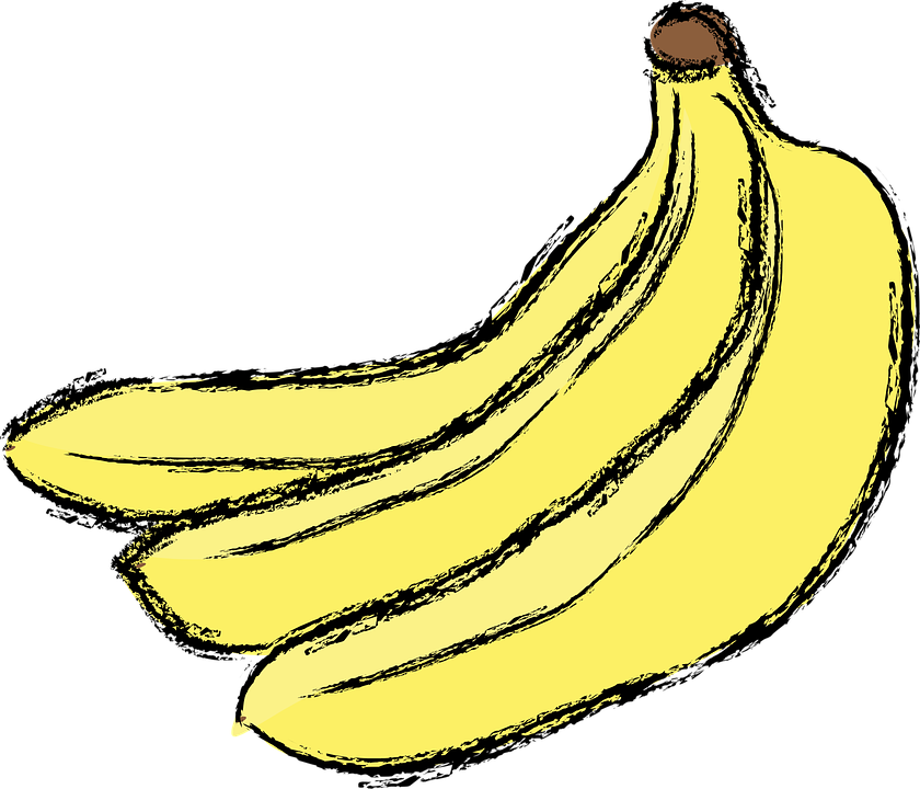 banana yellow fruit free vector graphic on pixabay banana yellow fruit free vector