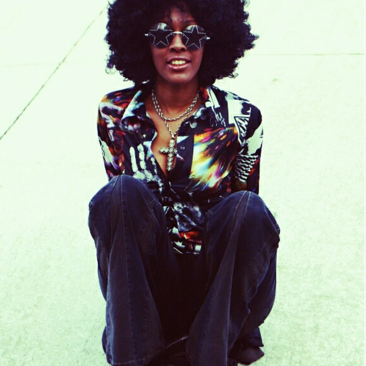 Afro, Hair, Natural, Fashion, Hippie, Style