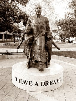 Martin Luther King Jr, Dream, American