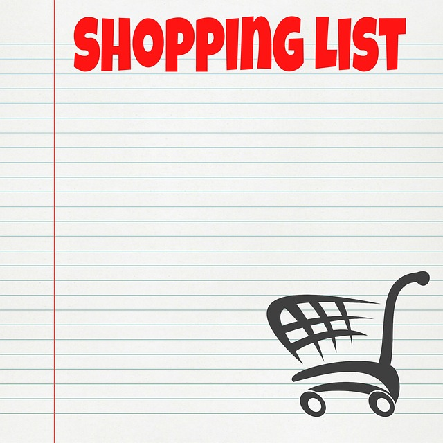 Free Illustration Shopping List List Shopping  Free Image On