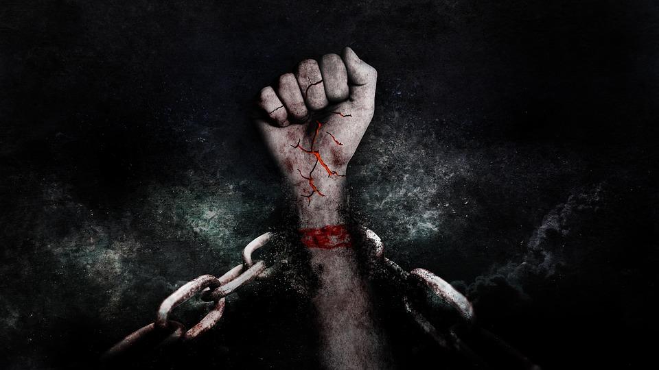 手, ファウスト, 暴力的な, 病棟, 勝利, チェーン, 自由, 起こる, 自決, 広い検索, 刑務所