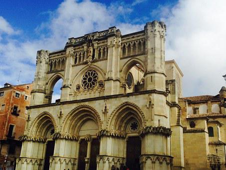 Cuenca, Spain, Cathedral, Architecture