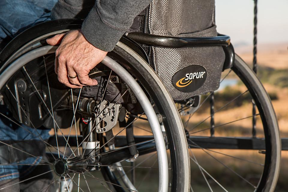 Sedia A Rotelle, Disabilità, Feriti, Disabili