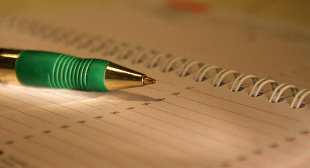 Termin, Terminkalender, Stift