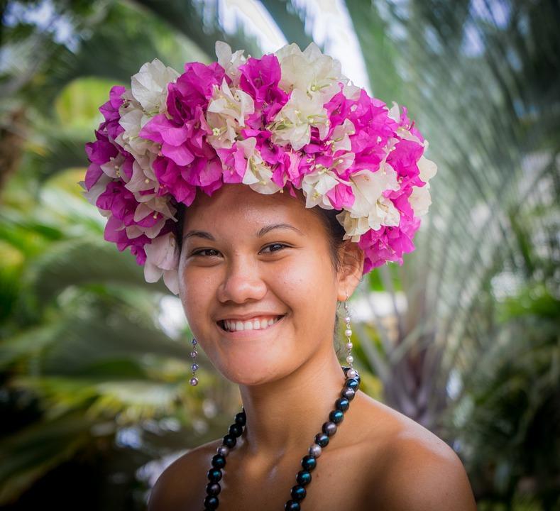French Polynesia Dress