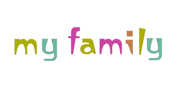 Family, Title, Icon, Web Design, Poster
