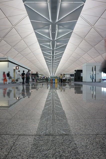 Free Photo Hong Kong Airport Corridor Free Image On