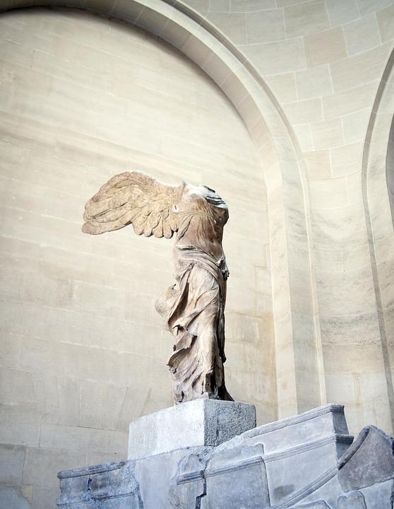 法国, 巴黎, 卢浮宫, 艺术画廊, 博物馆, 日经指数, 通信奖, 耐克公司, 耐克公司奖, 雕像