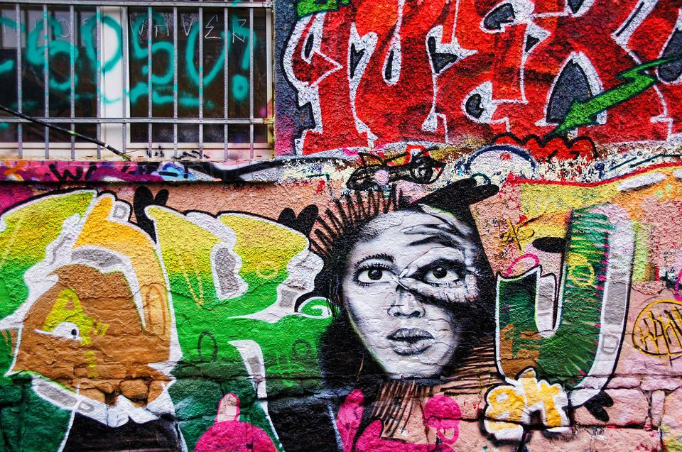 Graffiti Wall Painting Spray Free Photo On Pixabay