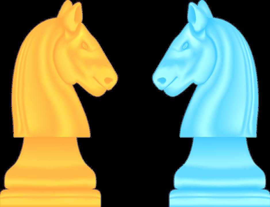 Картинка шахматы конь для детей