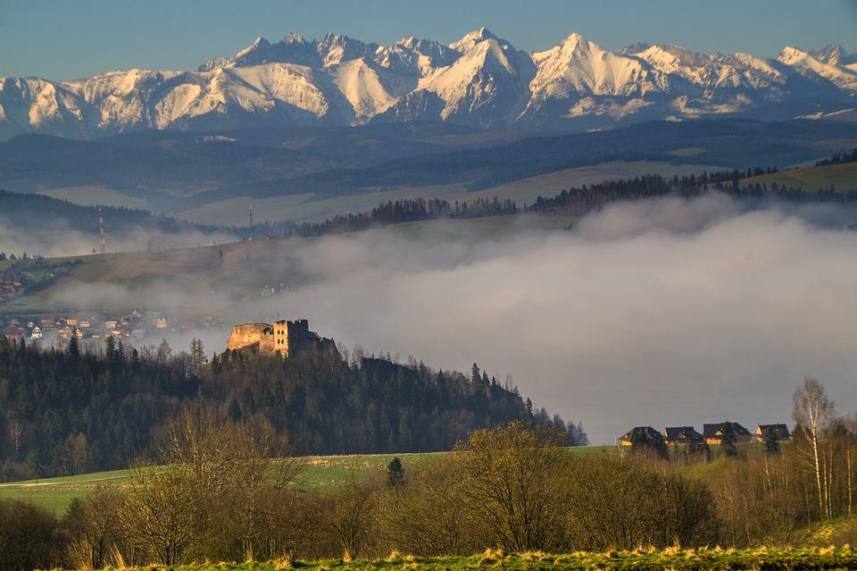 Polska, Góry, Tatry, Krajobraz, Natura, Widok