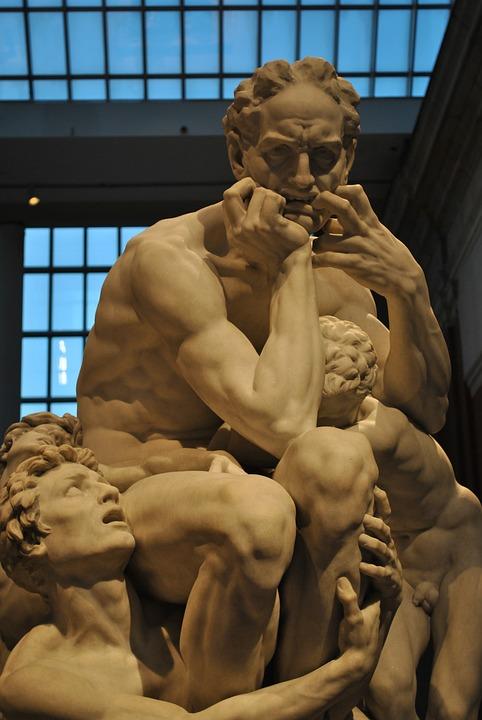 ウゴリーノと彼の息子 驚異 彫刻...