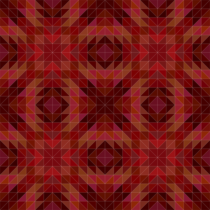 Maroon Triangle Pattern 183 Free Vector Graphic On Pixabay