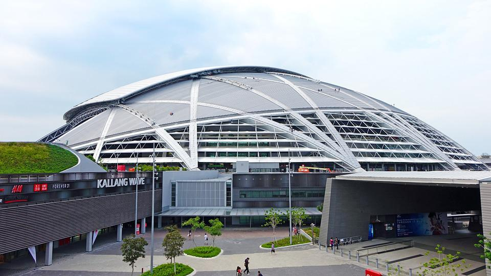 Singapore Sports Hub, Sport, Games, Steel, Competition