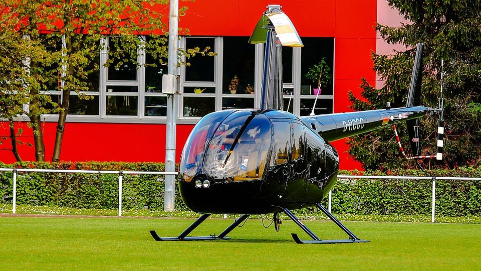 D-Hcc, Hubschrauber, Helikopter, Heli, Rotoren