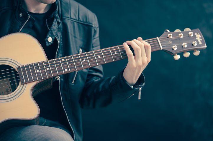 ギター, ギタリスト, 音楽, ギターを弾いてる, クラシックギター