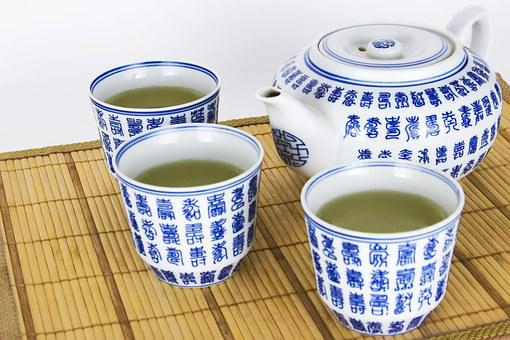 Traditional, Green, Tea, Maker, Glazed