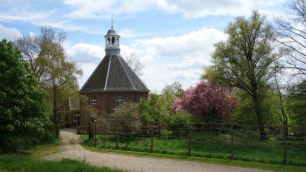 Platteland, Nederland, Betuwe, Landschap