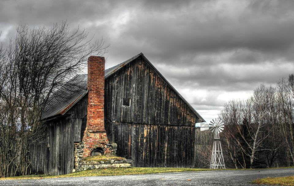 old barn clouds free photo on pixabay