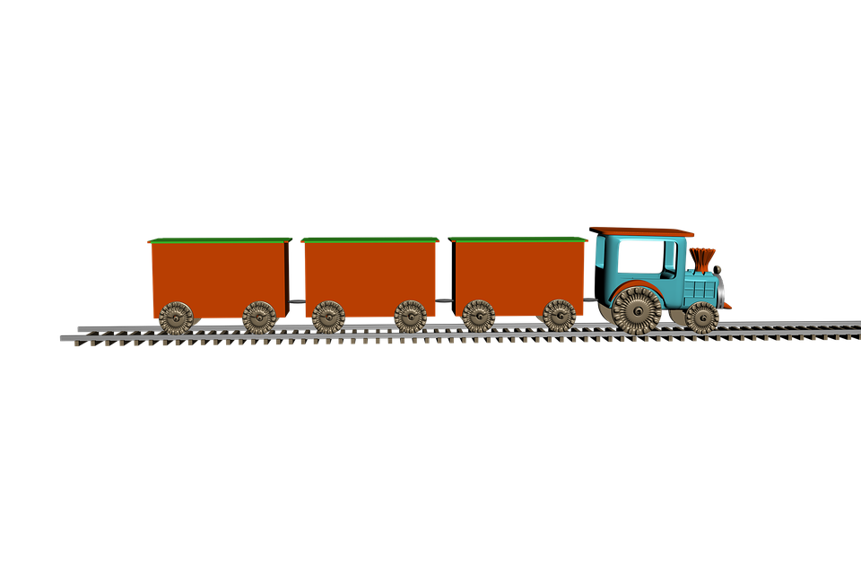 Free illustration: Train, Trail, Wagons, Isolated - Free ...