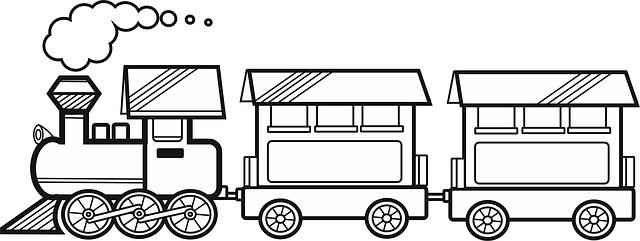 Ücretsiz çizim: Tren, Iz, Vagonlar - Pixabay'de Ücretsiz ...  Ücretsiz çizi...